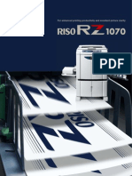 Midshire Business Systems - Riso RZ1070 Brochure