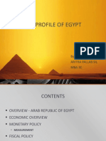 Economic Profile of Egypt Ppt