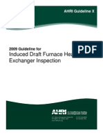 AHRI Guideline X-2009