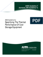 AHRI Guideline T 2002