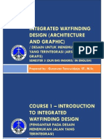SS-20130803-PPT Course 1- Intro Integrated Wayfinding Design