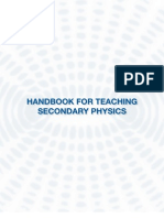 Handbook for Teaching Secondary Physics