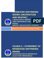 20130803-PPT Course 2 - Experiment of Integrated Wayfinding Design