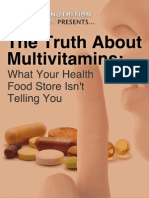 The Truth About Multivitamins Final Copy