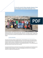 3rd ISRAEL Worship Tour Report May 2013