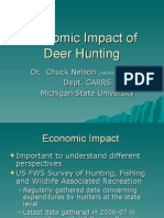 Chuck Nelson-Economic Impact of Deer Hunting