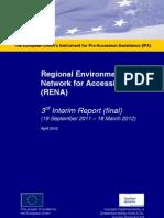 3rd Interim Report September 2011- March 2012