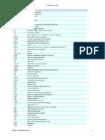 Shipping Maritime Abbreviations