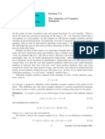 Algebra of complex numbers.pdf