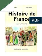 Histoire de France Cours élémentaire Grimal-Moreau 1962