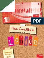 London Time Credits Menu Summer/Autumn 2013 - Spice