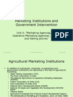 Co-Operative MKTG Soc and Reguilated Markets
