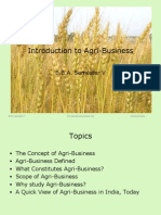 Introduction to Agri-Business