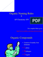 Organic Naming Rules 2