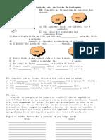 Revisão para avaliação de Português