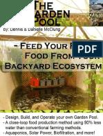 The Garden Pool Ecosystem