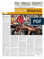 Observador semanal del 08/08/2013