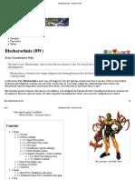 Blackarachnia (BW) - Transformers Wiki