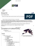 Ravage (G1) - Transformers Wiki
