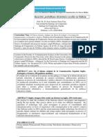 Comunicación y educación periodismo electrónico escolar en Galicia