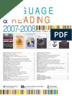 2007 Language Reading Us