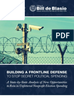 Building A Frontline Defense To Stop Secret Political Spending