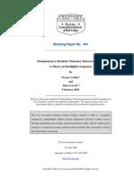 Prolegomena to Realistic Monetary Macroeconomics