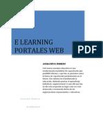 E Learnig Portales Web