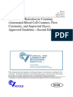 Methods for Reticulocyte Counting