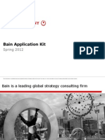 Bain Application Pack Spring 2012 Mexico