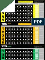 Focus T25 Alpha Beta Gamma Calendar