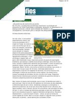 Embrapa - Excelência da semente ao prato - Eliana Simonetti - revista Desafios do Desenvolvimento