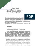 TEORIAS SOCIOLÓGICAS COMPARADAS E APLICADAS - habermas