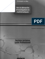 09 Vers la démarche d'investigation ISBN 978-2-86635-295-0