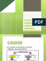 Conceptos Sistema General Integral