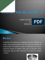 ELEMENTOS DE MÁQUINA- MANCAIS