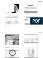 Fisiologia Introdução e Homestase 2013