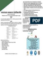 tríptico Extensión IBQ