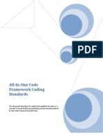 04_All-In-One Code Framework Coding Standards