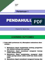 Pert-1 Definisi Dan Pengertian Geologi