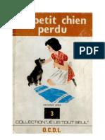 Je lis tout seul Série 09 No 03 Le petit chien perdu 1973