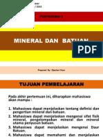 Pert-3 Mineral Dan Batuan