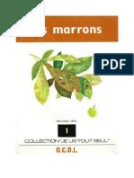 Je lis tout seul Série 09 No 01 Les marrons 1973