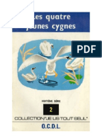 Je lis tout seul Série 08 No 02 Les quatre jeunes cygnes 1970