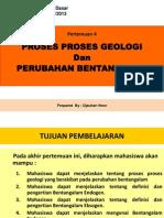 Pert-4 Proses Proses Geologi