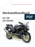 70051102 Kawasaki Ninja ZX 12R B 2003 Service Manual German