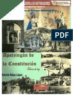 Apatzing n de La Constituci n Tierra de Luz