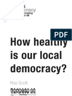 How Healthy is Our Local Democracy?