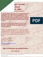 AIDS Origin Trial Delayed