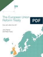 The European Union Reform Treaty